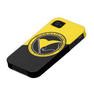 Voluntaryist iPhone 4/4S Case-Mate ID Case iPhone 4/4S Case