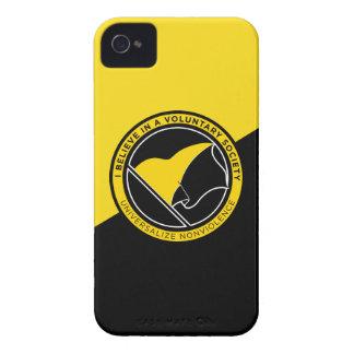 Voluntaryist iPhone 4/4S Case-Mate ID Case iPhone 4 Cases
