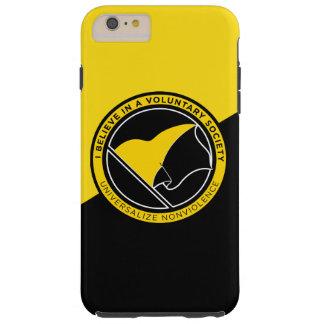 Voluntaryist iPhone 4/4S Case-Mate ID Case Tough iPhone 6 Plus Case