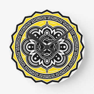 Voluntaryist Motif Wall Clocks