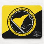 Voluntaryist Mousepads Alfombrillas De Ratones