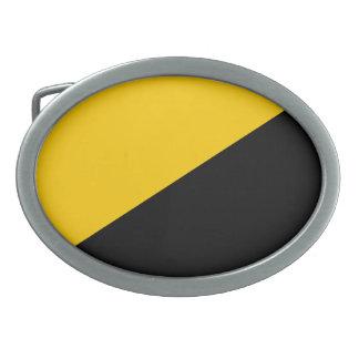 Voluntatyist Flag Oval Belt Buckle