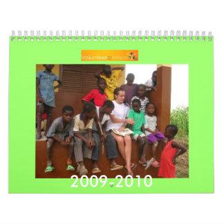 Volunteer Africa Calendar