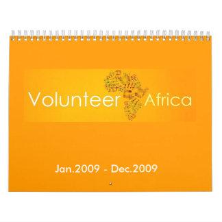 Volunteer Africa - Customized Calendar