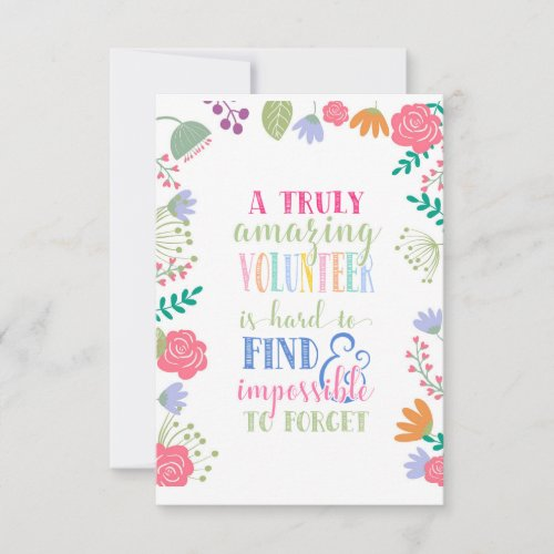 volunteer appreciation week card