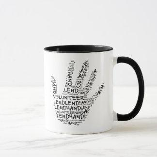 Volunteer Awareness: Lend a Helping Hand Mug