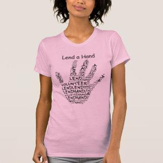 Volunteer Awareness: Lend a Helping Hand T-Shirt