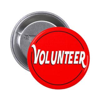 Volunteer Badge Custom Color Button
