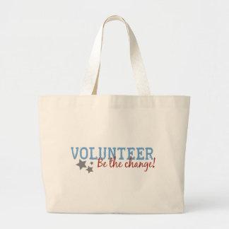 Volunteer Be The Change Bags