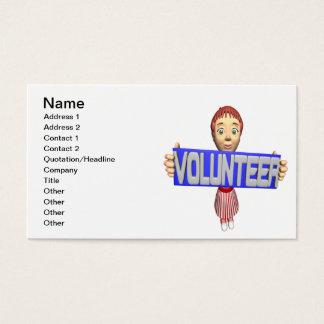 Volunteer Business Card