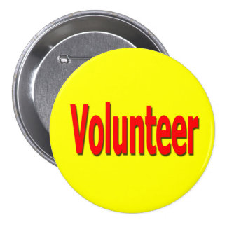 volunteer button yellow