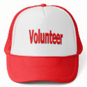 volunteer cap hat