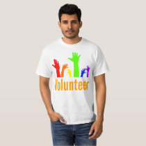 Volunteer Classroom Diversity Raise Hand T Shirt