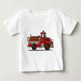 Volunteer Fire Truck Firefighter Baby T-Shirt
