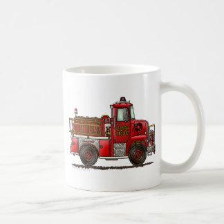 Volunteer Fire Truck Firefighter Coffee Mug