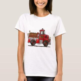 Volunteer Fire Truck Firefighter T-Shirt