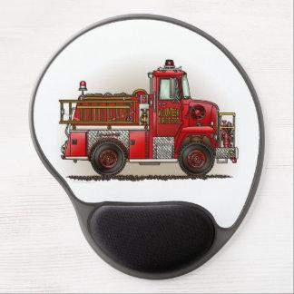 Volunteer Fire Truck Gel Mouse Pad