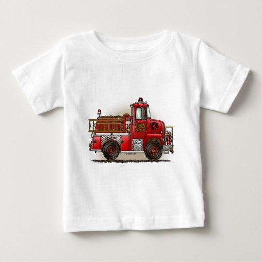 Volunteer Fire Truck Infant T-Shirt
