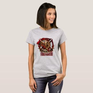 Volunteer FireFighter Bulldog T-Shirt