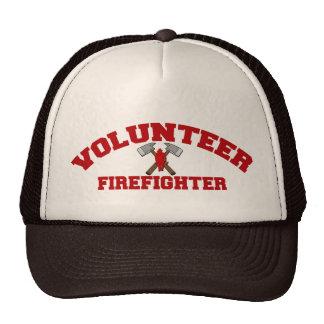 Volunteer Firefighter Cap Trucker Hat