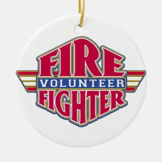Volunteer Firefighter Christmas Tree Ornaments
