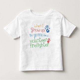 Volunteer Firefighter (Future) Infant Baby T-Shirt