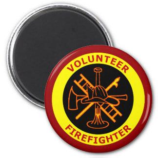 VOLUNTEER FIREFIGHTER MAGNETS