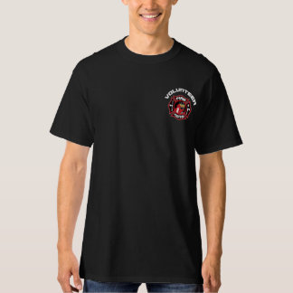 Volunteer Firefighter Modern Badge T-Shirt