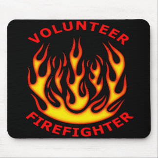 Volunteer Firefighter Mouse Pad