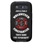 Volunteer Firefighter Name Template Samsung Galaxy SIII Covers