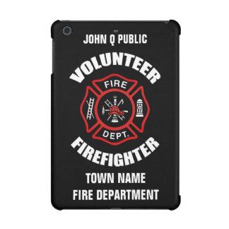Volunteer Firefighter Name Template iPad Mini Cases