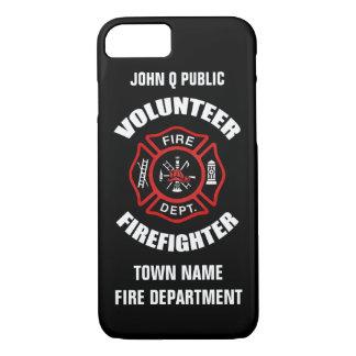 Volunteer Firefighter Name Template iPhone 7 Case
