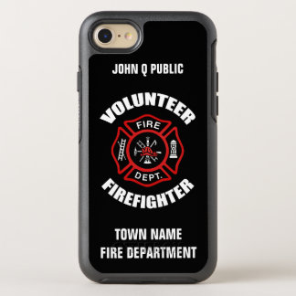 Volunteer Firefighter Name Template OtterBox Symmetry iPhone 7 Case