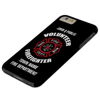 Volunteer Firefighter Name Template Tough iPhone 6 Plus Case
