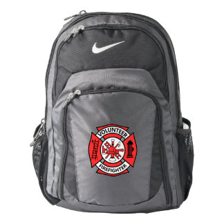 Volunteer Firefighter Nike Backpack