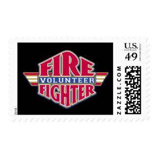 Volunteer Firefighter Postage