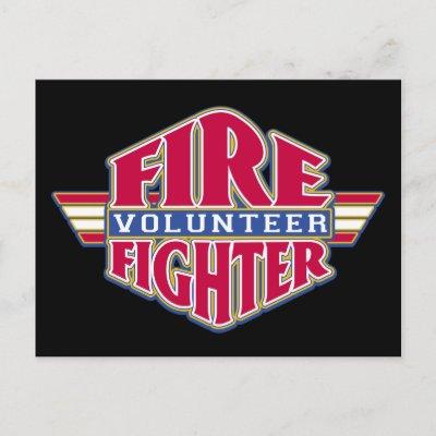 volunteer fire fighter