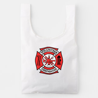 Volunteer Firefighter Reusable Bag
