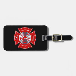 Volunteer Firefighter Tag (add your contact info)