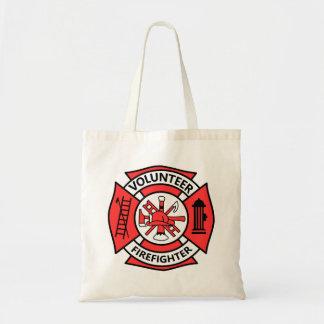 Volunteer Firefighter Tote Bag