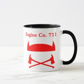 Volunteer Firefighter with Name or Message on Back Mug