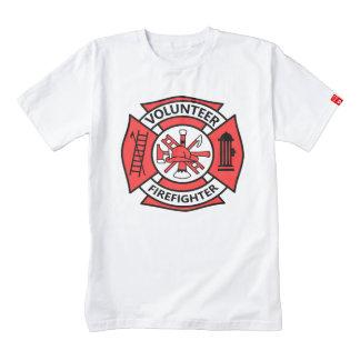 Volunteer Firefighter Zazzle HEART T-Shirt