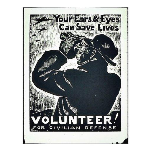 Volunteer! Flyer