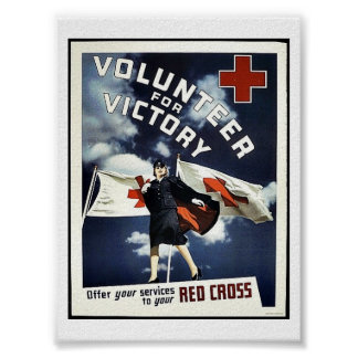 Volunteer For Victory Poster