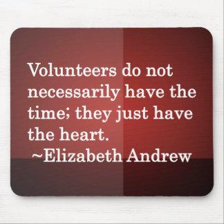 Volunteer Heart Mouse Pad