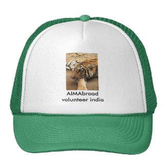 volunteer india trucker hat