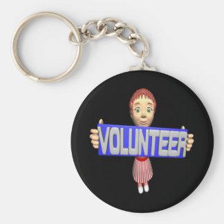 Volunteer Key Chains