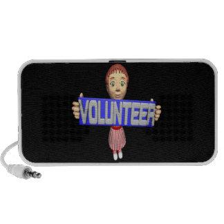 Volunteer Laptop Speakers