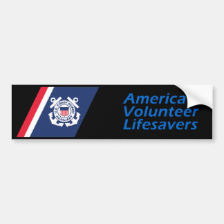 Volunteer Lifesavers Bumper Sticker