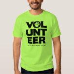 """""""Volunteer, LRAV"""" T-shirt (Lime Green)"""